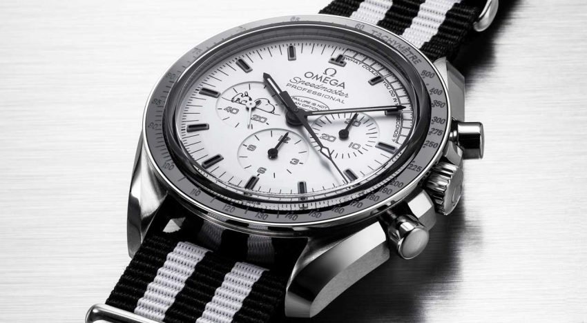 Omega Speedmaster Apollo 13 Silver Snoopy Award: A Look Into Its Recognizable Construction Elements